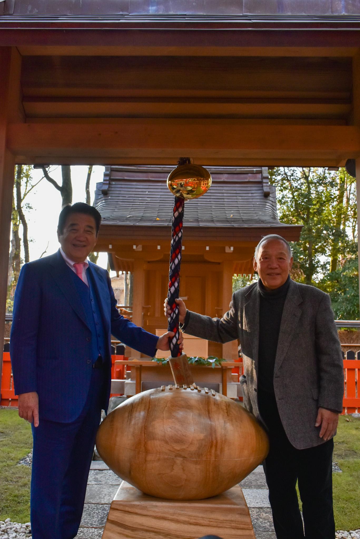【写真左】フルタイムシステム 代表取締役社長 原 幸一郎